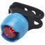 RFR Diamond HQP Fietsverlichting red LED blauw/zwart